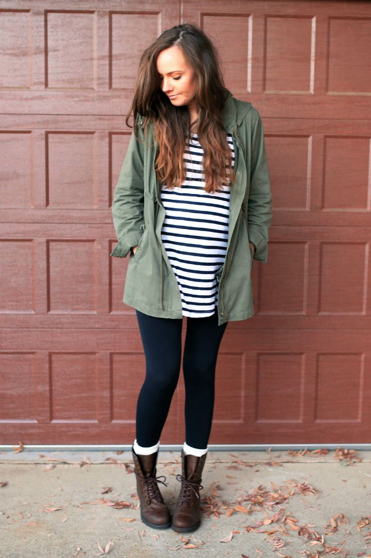Dressing the Bump | Cozy Fall Fashion | Jacket, Top, Leggings, and Boots | Maternity Style for Fall | Fall Maternity Fashion || Katie Did What