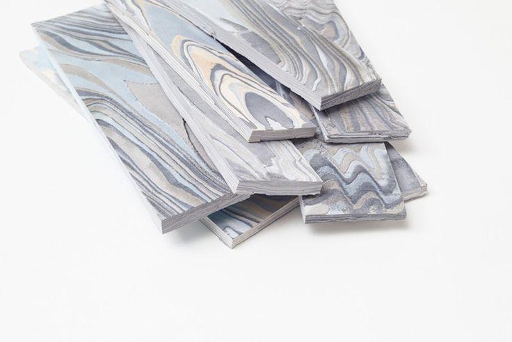nendo layers fabric to create alcantara wood furniture and flooring all images by akihiro yoshida