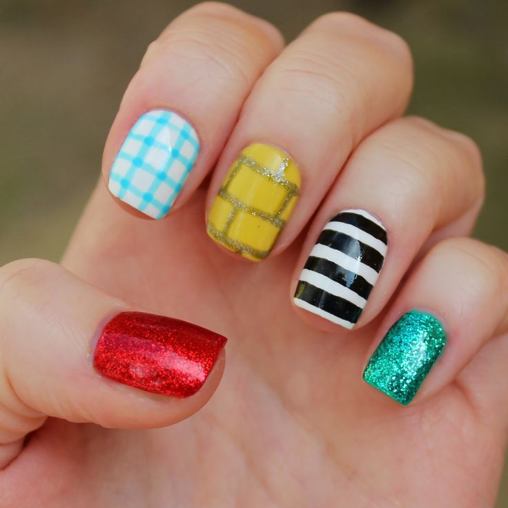 This year I completed some manicure and pedicure nail courses. I was so nervous and could do with having some fun now with products and designs! Wizard of Oz Nail Art