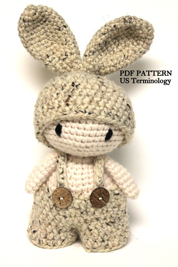 Crochet Chunky Bunny, Amigurumi Rabbit, Super Chunky Bunny, Crochet Toy, Crochet Rabbit, Bunny PATTERN, PDF Tutorial, Crochet Stuffed Toy by PinkMouseBoutique on Etsy https://www.etsy.com/listing/275911982/crochet-chunky-bunny-amigurumi-rabbit