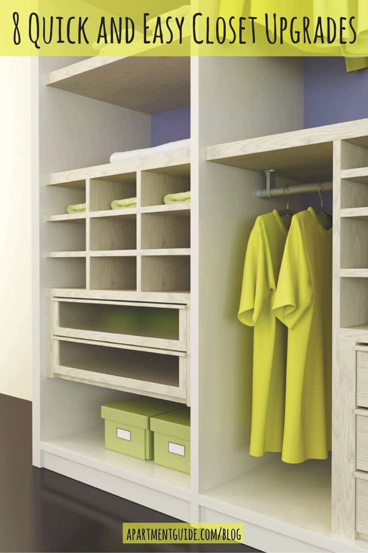 Spend A Day On These Closetanization And Style Upgrades To Create The  Space Of Your Small Closetseasy