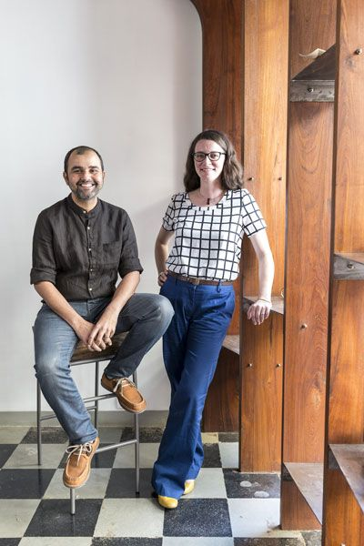 Architects Sachin Bandukwala and Melissa Smith, founders of furniture and product design studio, Various at Dhobi Talao, took the plunge and had a little fun with colours and finishes when they selected four products for a remarkable—and unexpected—reinvention