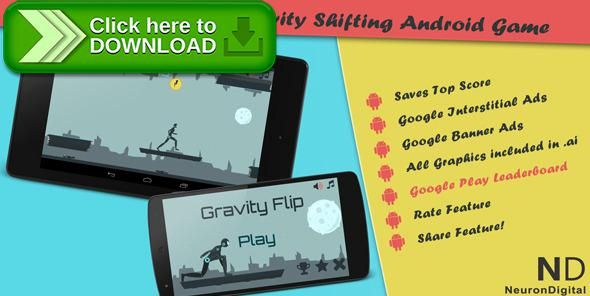 [ThemeForest]Free nulled download Gravity Flip - A Gravity Shifting Android Game from http://zippyfile.download/f.php?id=44788 Tags: ecommerce, admob, android, arcade, flip, game, gravity, interstitial, java, play, run, runner, shift, side scrolling, stickman, worlds