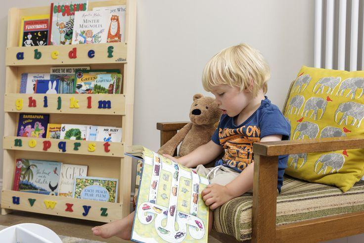 Libreria per Bambini Tidy Books colore Naturale