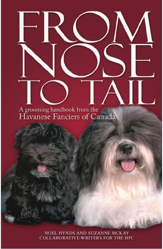 By far, the BEST Havanese grooming book