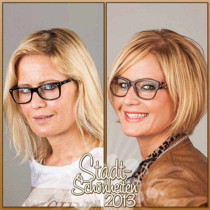 Frisuren Frauen Bob Mit Gläsern - Brille Frisuren Mit - # ...
