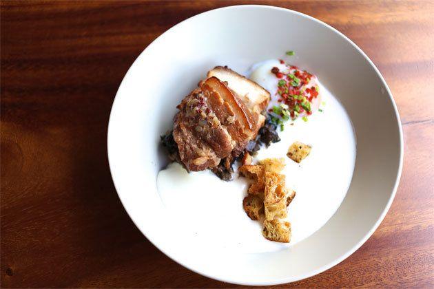 Kakuni style braised Pork Belly for $15.40