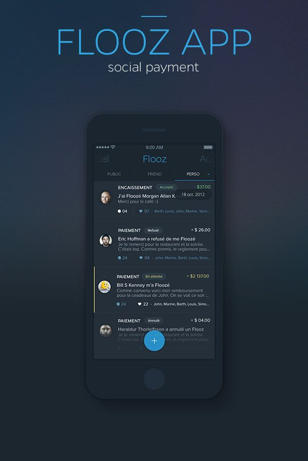 UI/UX Works by Barthelemy Chalvet | Abduzeedo Design Inspiration