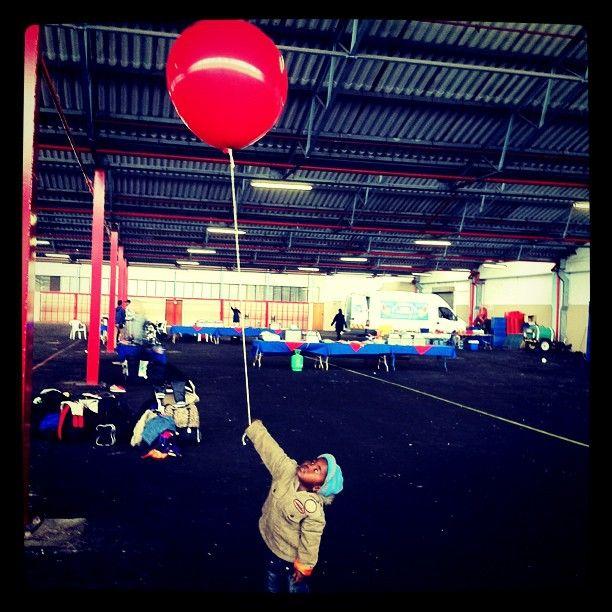 My first #Instagram. #child #balloon #happy #filmshoot #red