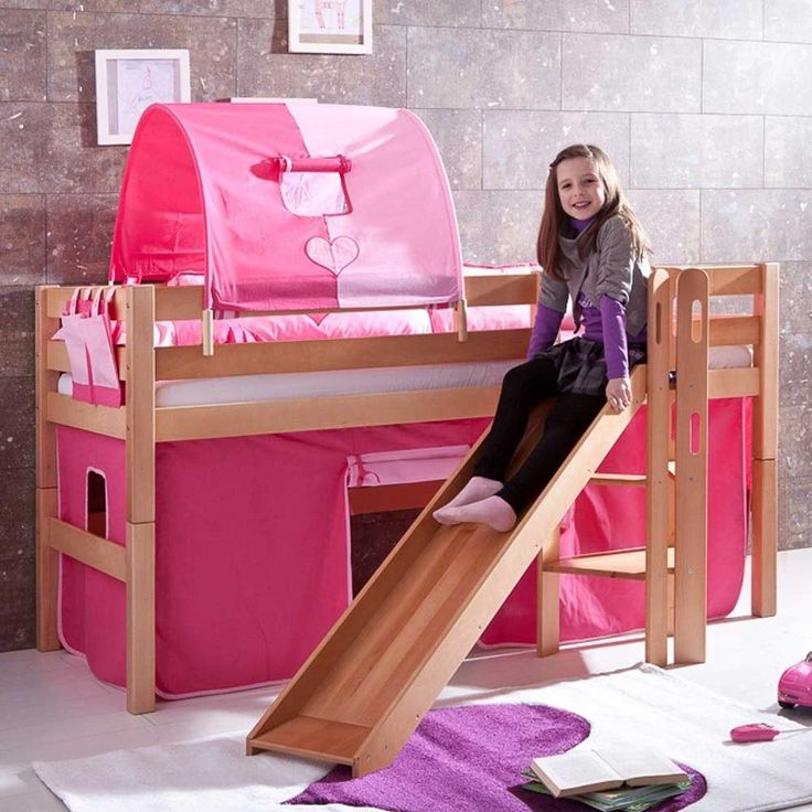 Kinderhochbett mit schräger rutsche  Die besten 25+ Kinderbett mit rutsche Ideen auf Pinterest ...