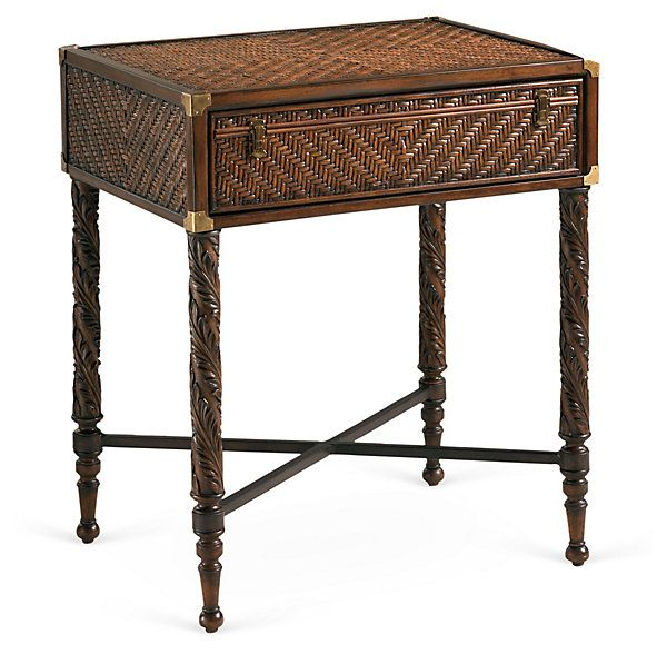 17 Images About British Colonial End Tables On Pinterest