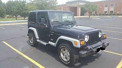 2002 Jeep Wrangler X Sport Utility 2-Door 2002 Jeep Wrangler X Sport Utility 2-Door 4.0L