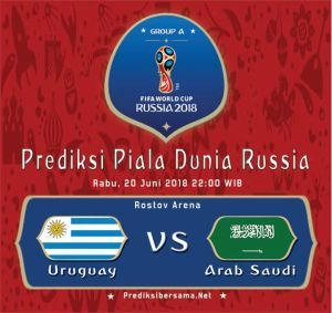 Uruguay Vs Arab Saudi Live Streaming Nonton Piala Dunia 2018 Online