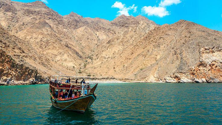 Mussandam, la penisola omanita che si getta nel Golfo Persico
