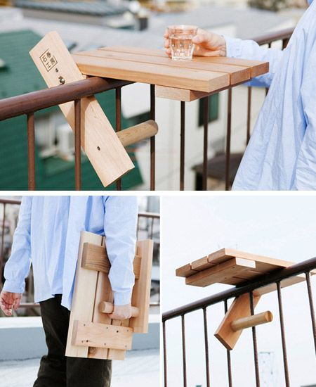 12 Most Creative Accessories for your Balcony - Oddee.com