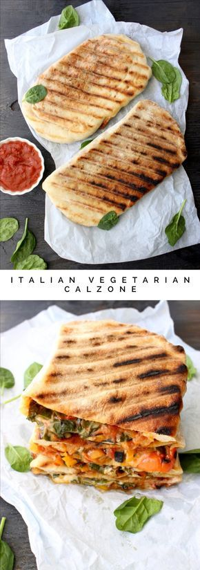Italian Vegetarian Calzone Recipe | CiaoFlorentina.com