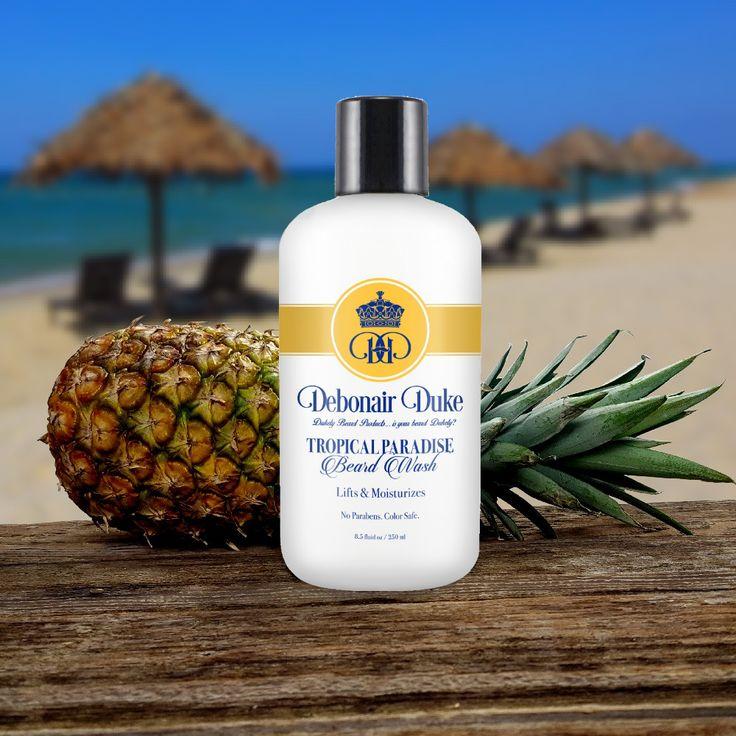 Tropical Paradise Beard Wash & Shampoo   Debonair Duke – Debonair Duke