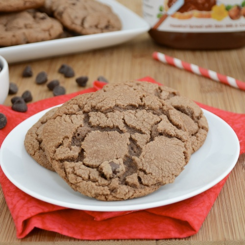 Nutella Chocolate Chip Cookies | Nutella Chocolate, Chocolate Chip ...