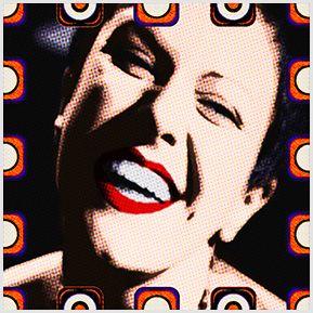 Elis Regina 01 -  Quadrinhos confeccionados em Azulejo no tamanho 15x15 cm.Tem um ganchinho no verso para fixar na parede. Inspirados em divas da MPB. Para entrar em contato conosco, acesse: www.babadocerto.c...