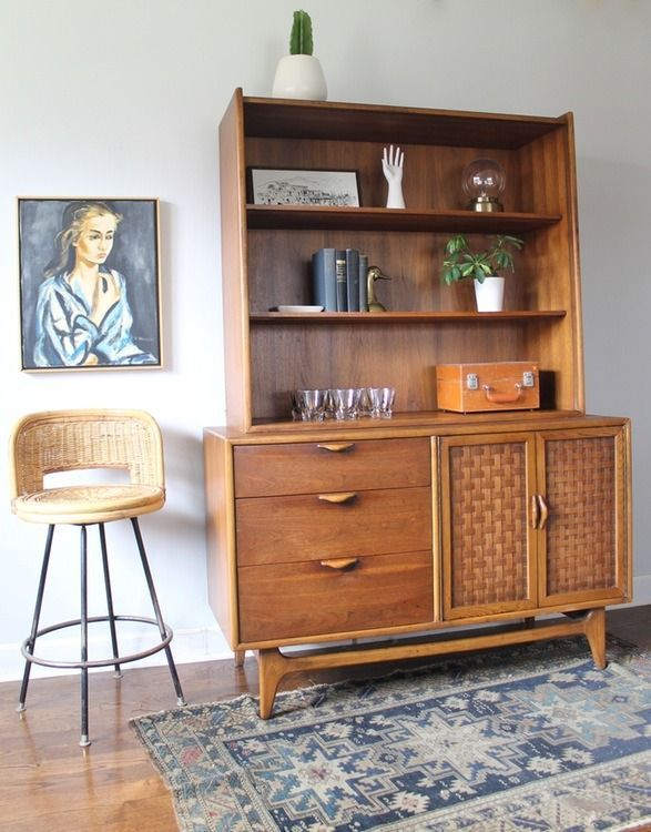 Vintage Lane Furniture us still popular today: clean lines and subtle detailing make for great collector's pieces.
