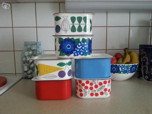 Finelin jääkaappirasioita ja muita astioita. tori.fi