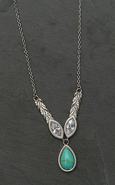 Montana Silver Smith Woven Light Lavalier Necklace | Cavender's