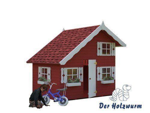 Kinderspielhaus Tom - Der Holzwurm - Obersayn