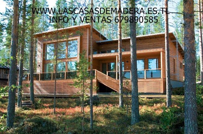 Fabricamos casas de madera para toda espa a ventas 679 890 - Casas canadienses espana ...