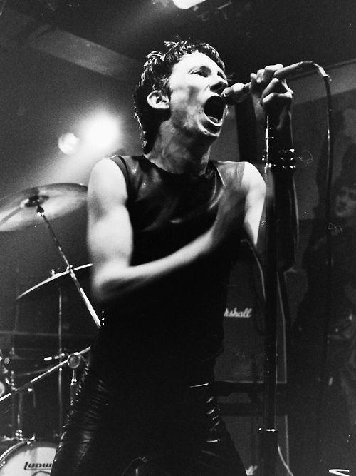 Dead Boys: Stiv Bators at CBGBs, photo Emily Armstrong circa 1977