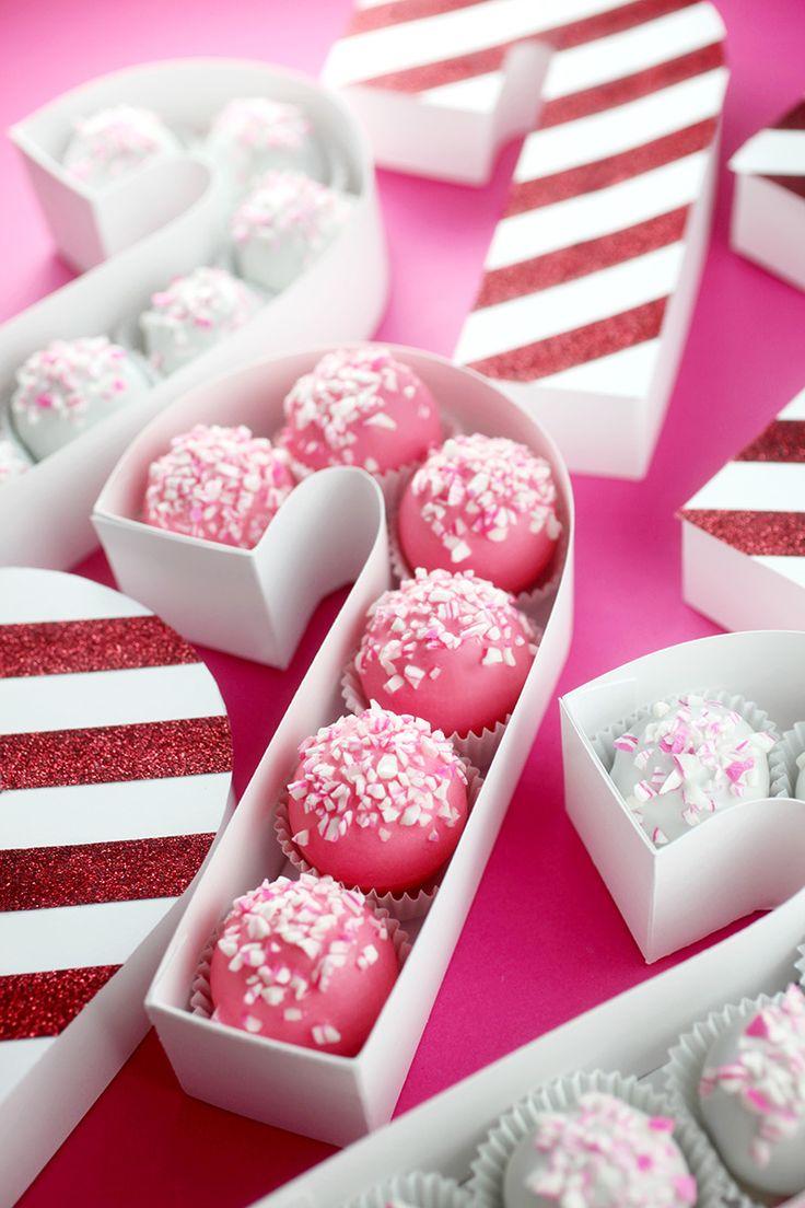 Candy Cane Treat Box