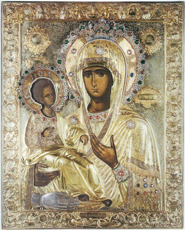 "Icon of the Mother of God of ""the Three Hands"""