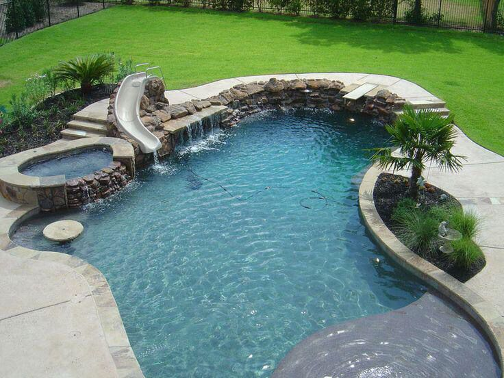 Interesting Pools With Slides For Small Backyards Of The Largest Swimming Pool In World Y On Decorating