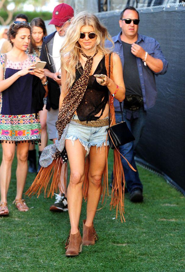 Fergie au festival de Coachella