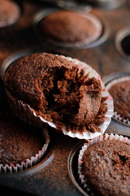 These sweet and spicy chili chocolate cupcakes are so fluffy and moist ...