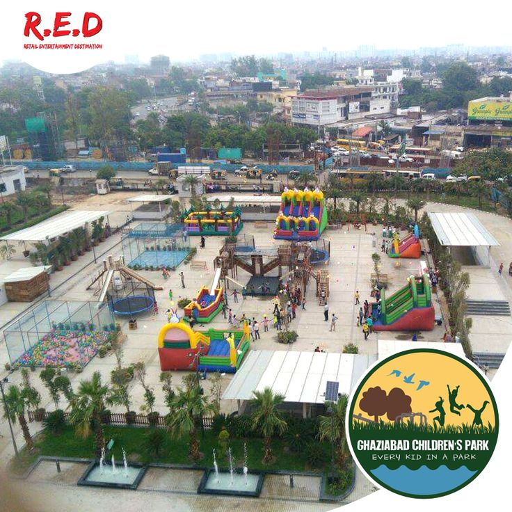 Are you looking for #fun with your #kids? You along you're your family & children are invited any day from 4pm till 9pm to visit the #GhaziabadChildrenPark  free! Opening soon! Just register with us giving your contact detail & you will be allowed to enter and enjoy all adventurous activities. #REDMALL