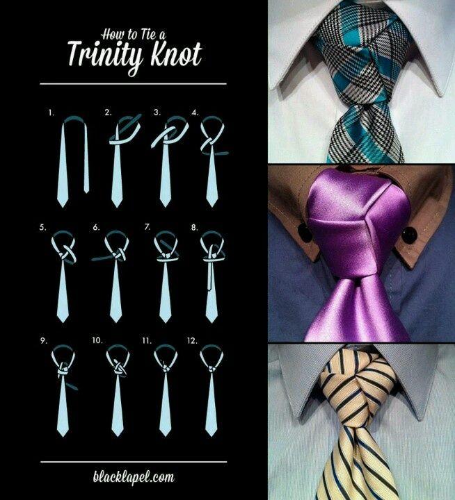 ¡Sal de la rutina con este nudo de corbata!