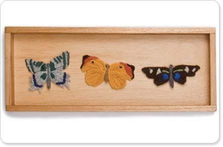 Cool material butterflies
