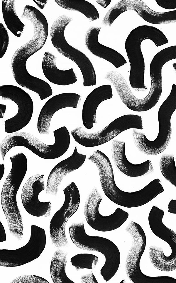 Black Paint Brush Stroke Wallpaper Muralswallpaper In 2020 Mural Wallpaper Abstract Wallpaper Design Abstract Wallpaper