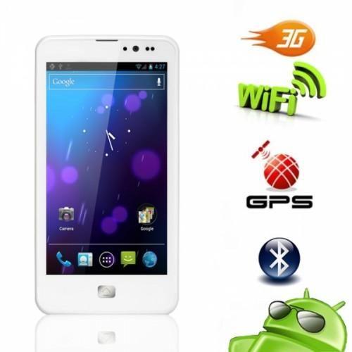 ZOPO Android 4.5 Dual SIM White Phone