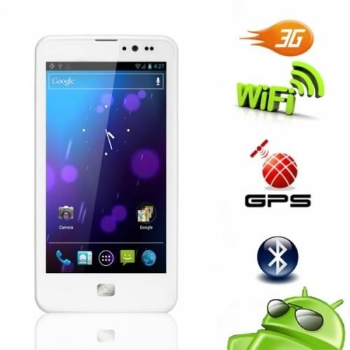 ZOPO Android 4.5 Dual SIM White Phone