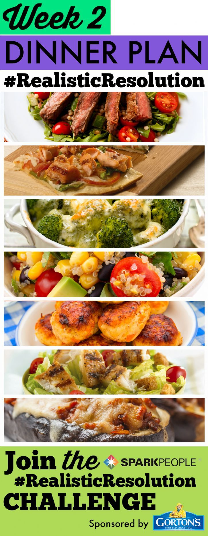 30 Days of Meals for a New You in the New Year | SparkPeople