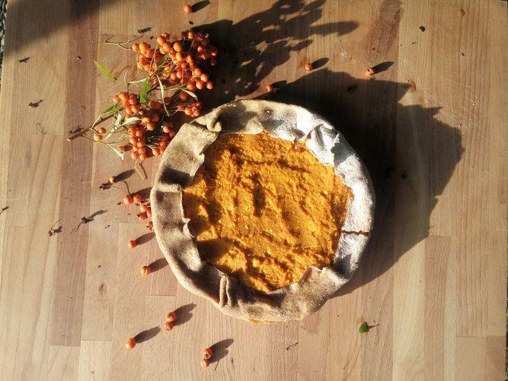 Sapore d'autunno:torta salata di zucca