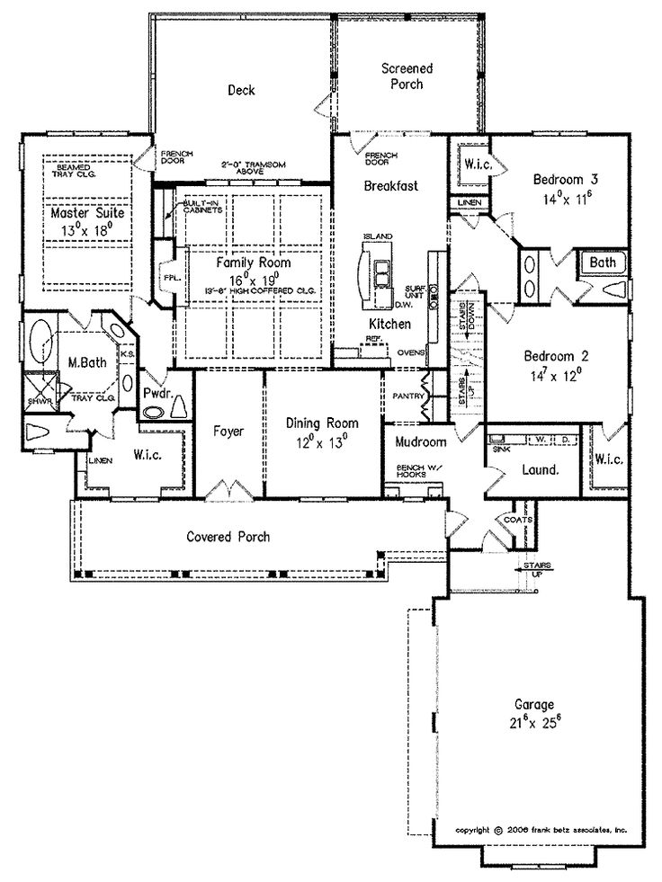 17 best images about floor plans on pinterest craftsman for Craftsman plans