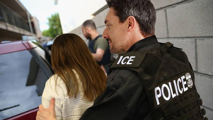 Thrilling: This ICE Officer Currently Escorting An Immigrant Woman Away From Her Family Is Thinking About Which Movie Star Would Play Him In A Film Called American Sentinel - http://themostviral.com/thrilling-this-ice-officer-currently-escorting-an-immigrant-woman-away-from-her-family-is-thinking-about-which-movie-star-would-play-him-in-a-film-called-american-sentinel/