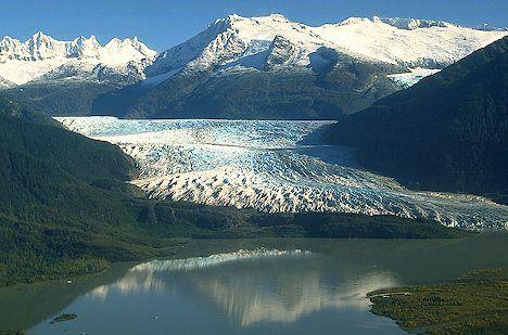 mendenhal glacier- near juneau alaska