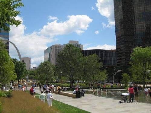 Downtown St. Louis :: Citygarden
