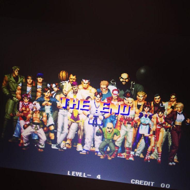 On instagram by dxashura #arcade #microhobbit (o) http://ift.tt/1RoCPdy placer de acabar lo empezado #kof94 #neogeo  #classic