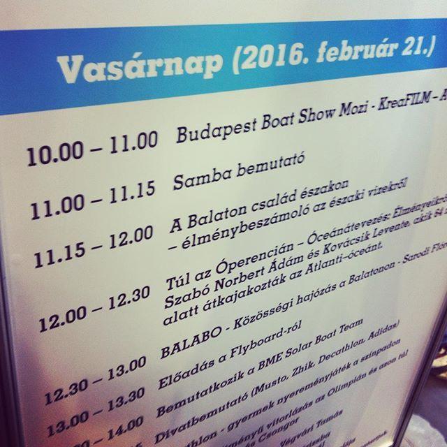 Balabo Presentation at 12:30! #balabo #electricboat #mome #budapestboatshow #hungariandesigner #sarodifloradesign