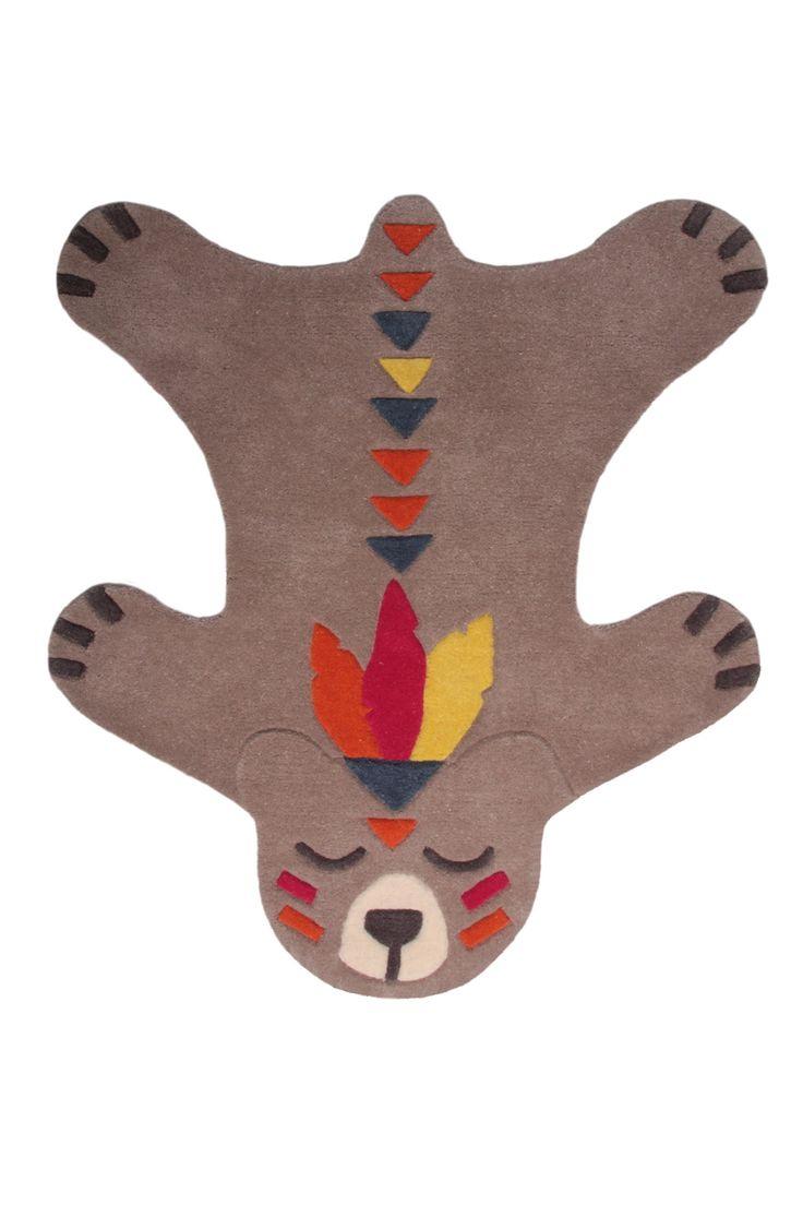 Akko | Laine | Nattiot Tapis peau d'ours  Déco chambre enfant- Nattiot