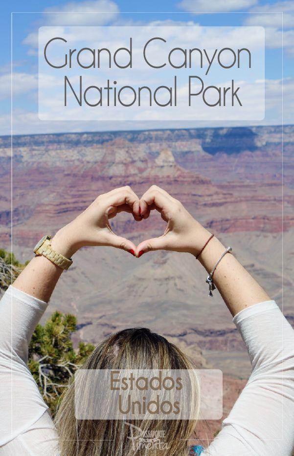 O Parque National do Grand Canyon é um lugar maravilhoso. Explorei o parque e fiquei completamente apaixonada por esse parque nacional do Estados Unidos.